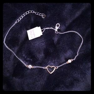 New Lia Sophia ankle bracelet with tag